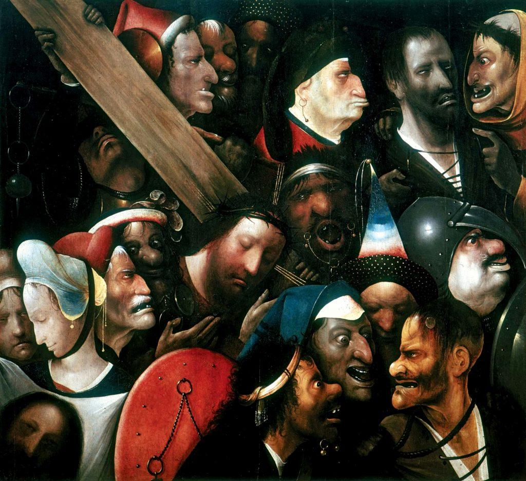 Heronimus Bosch- Christ Carrying the Cross